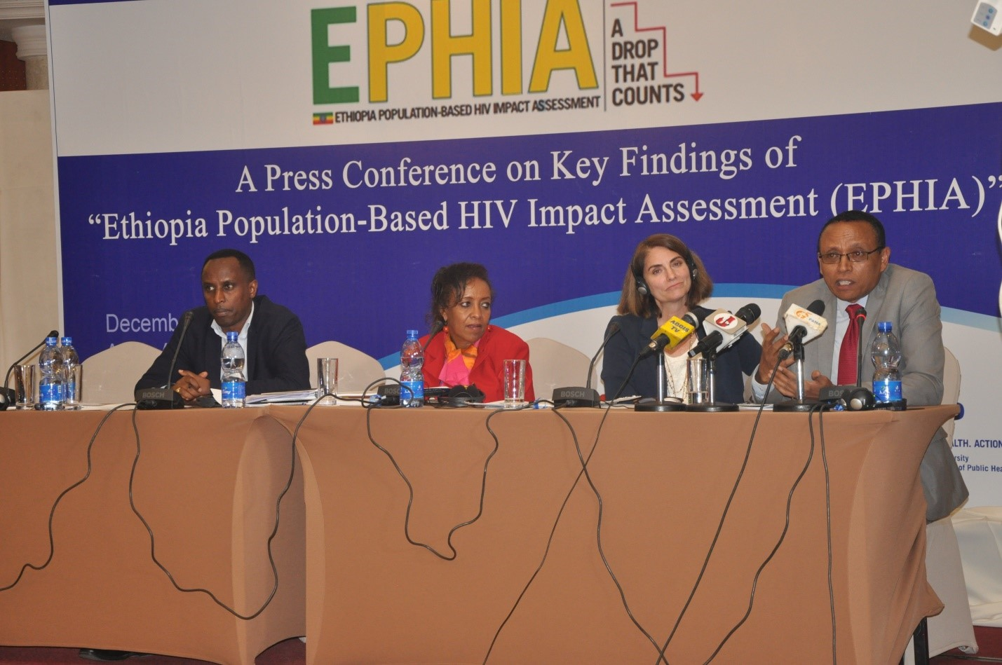 NEW FINDINGS OF ETHIOPIA POPULATION BASED HIV IMPACT ASSESSMENT